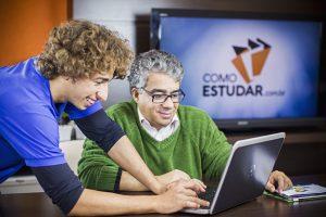 professor Rubens Sampaio ensinando como estudar corretamente e seus benefícios